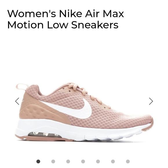 nike air max motion low rose